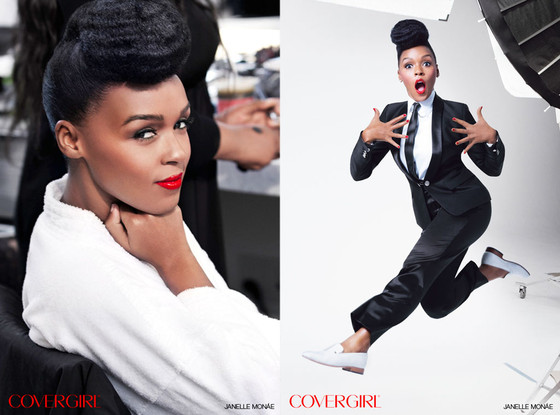 Janelle Mon 225 E Graces The Cover Of Covergirl Rnb