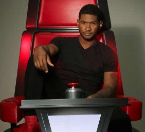 Usher Takes A Seat In New 'The Voice' Promo Pic