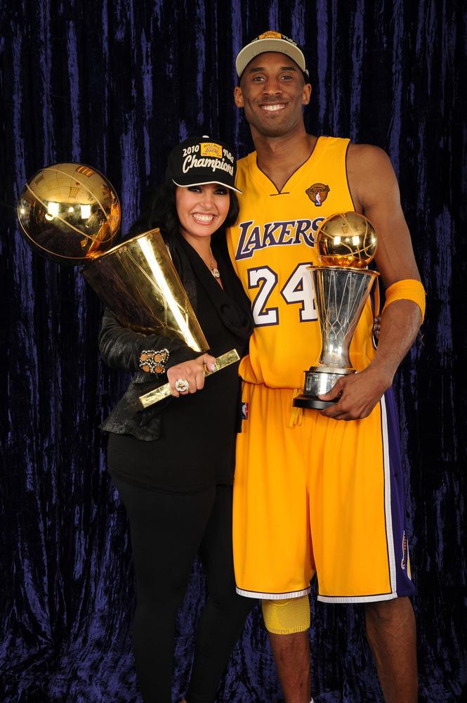 Winning- Vanessa stands by her champion husband