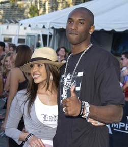 Vanessa & Kobe out and about