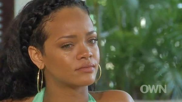"""Aug 2012- Rihanna is interviewed by Oprah on her Next Chapter's show and confused her look for the troubled singer. """"We built a trust again and that's it. We love each other and we probably always will."""""""