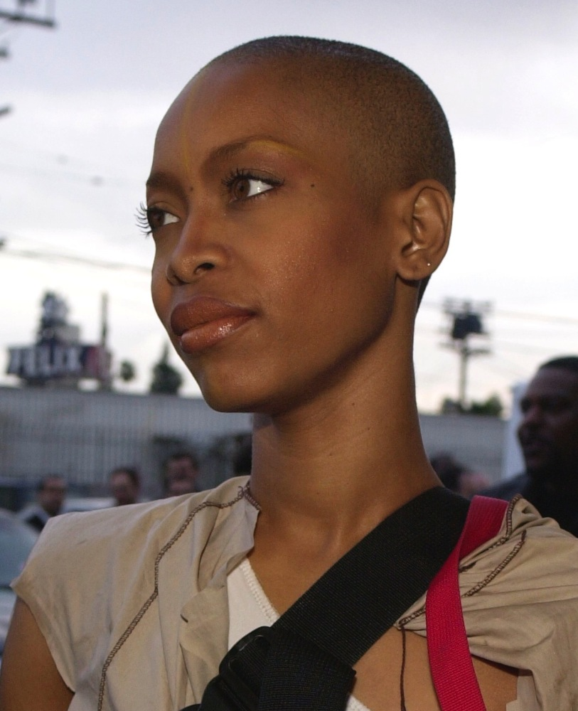 don't know too many people that wear a bald head and look this ...