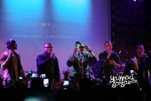 (NYC) All FIVE members of DAY 26 surprise fans with a reunion concert at SOBs1