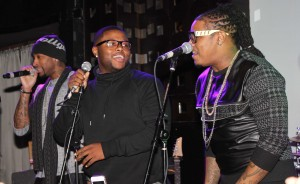 (NYC) All FIVE members of DAY 26 surprise fans with a reunion concert at SOBs2