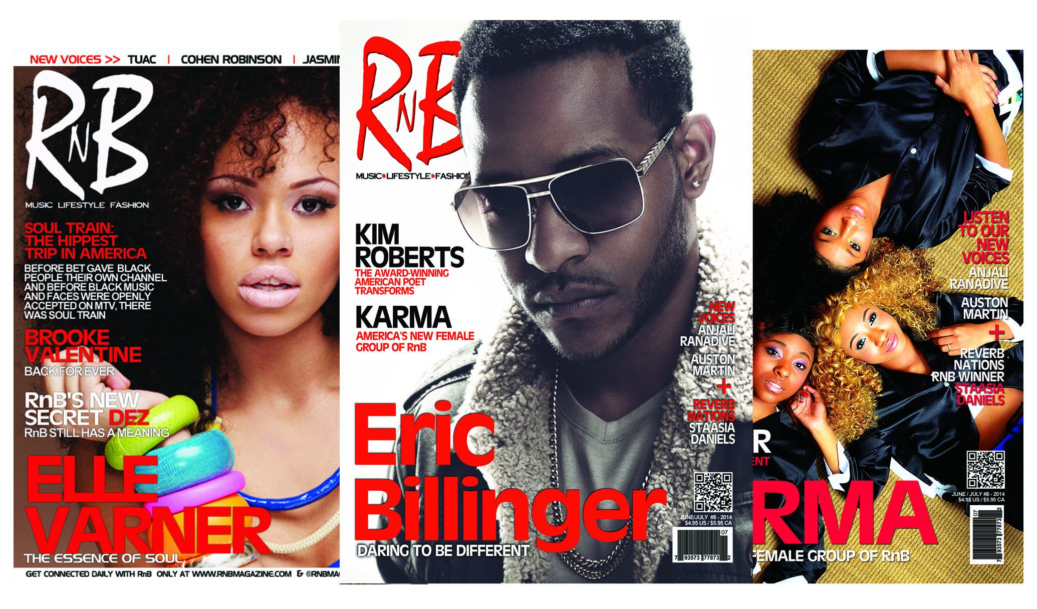 magazines in every screen rnb