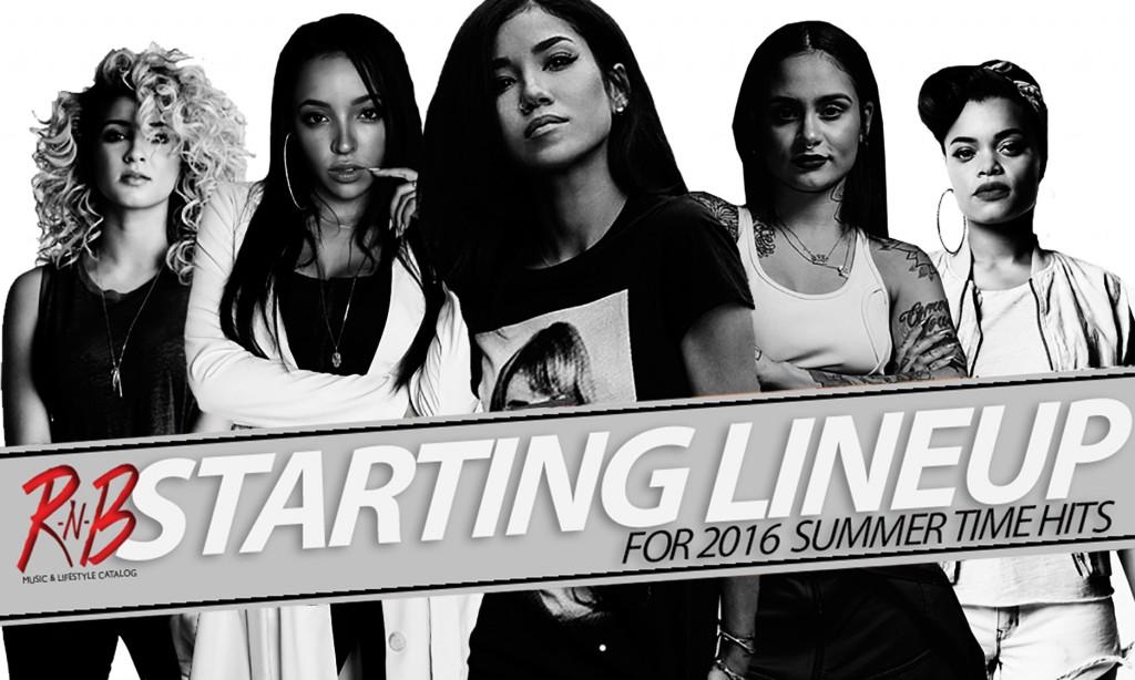 rnb magazine starting line up 2016 Jhene Aiko -Tori Kelly - Andra Day - Kehlani - Tinashe 4